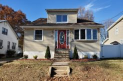 New Listing – 1318 Center St. Union, NJ 07083 $315,000