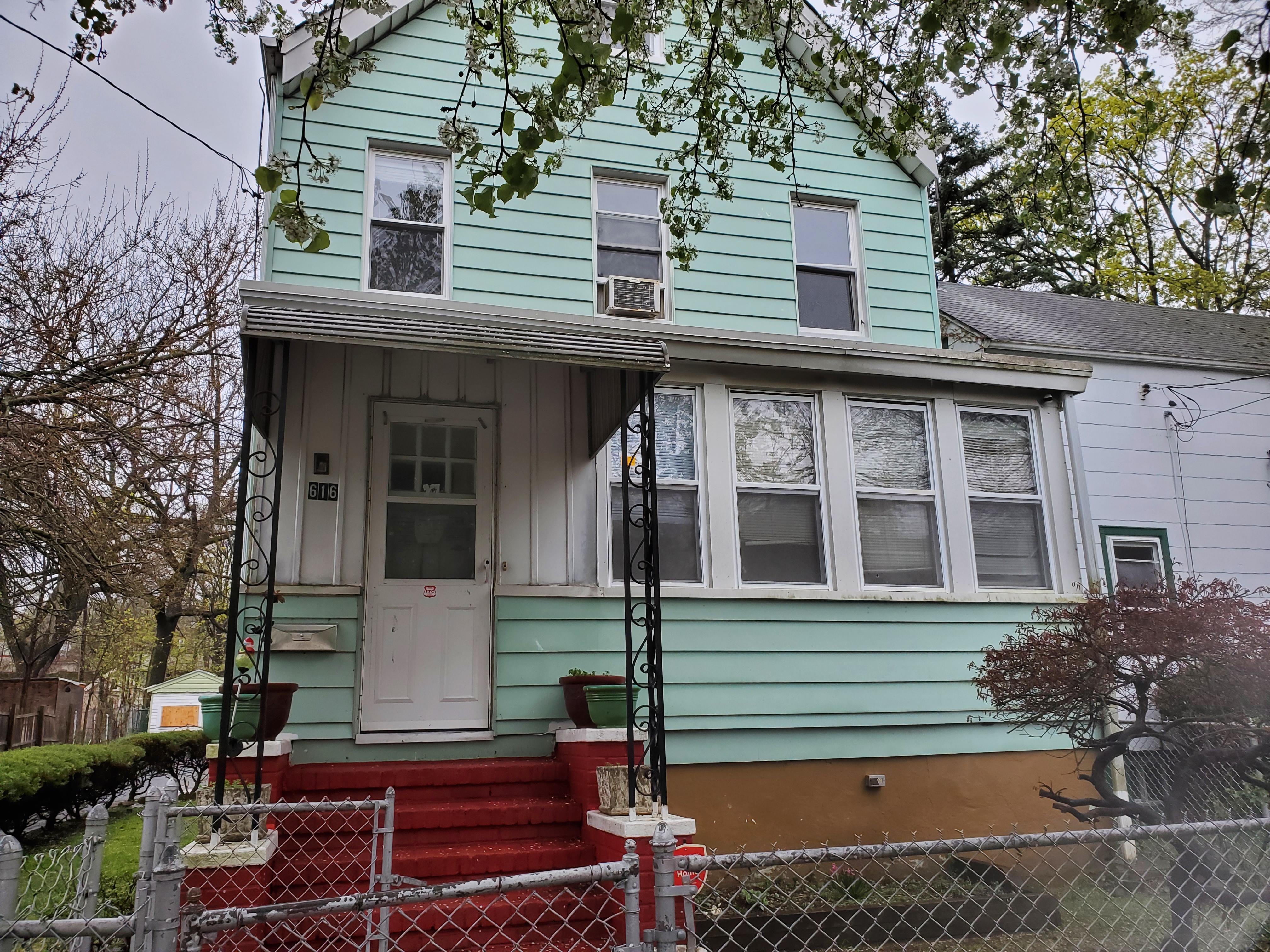 UNDER CONTRACT – 616 LANGDON ST. ORANGE, NJ 07050 $209,900